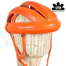 Vintage Cycling Bicycle Helmet Adult L'eroica  Retro Commuter Classic Hat Orange