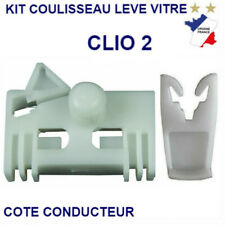 KIT DE REPARATION LEVE VITRE RENAULT CLIO 2 II  2-3 PORTES 2001-208 AVANT GAUCHE