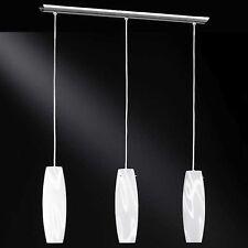 WOFI lámpara colgante Houston 3 llamas CRISTAL MESA de Comedor Salón Cocina