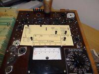 1 Röhre Valvo Bas Poströhre über 5 mA geprüft auf Funke W19 NOS BL965