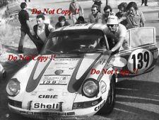 GERARD LARROUSSE PORSCHE 911 ST Tour de France 2.4 Rally 1970 Photographie 3