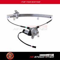 1998 1999-01 Power Window Regulator w/ Motor for Nissan Altima Front Driver Side