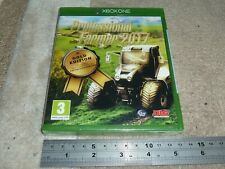 PROFESSIONAL FARMER 2017 GOLD EDITION MICROSOFT XBOX ONE BRAND NEW FACTORY SEAL