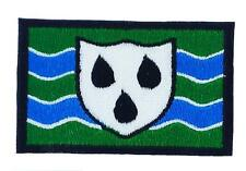 Patch ecusson brodé drapeau flag backpack worcestershire anglais