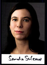 Sandra Scheeres Autogrammkarte Original Signiert ## BC 56026