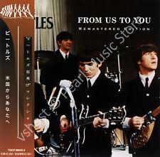 BEATLES FROM US TO YOU 2 CD MINI LP OBI Harrison Lennon McCartney Starr new