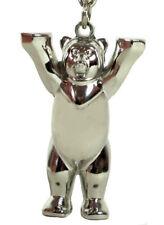 BUDDY BEAR Berlin Metallic 3D Schlüsselanhänger NEU Bär +Geschenkbox Key Ring