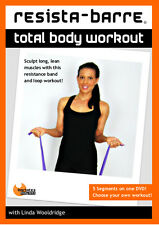 Resistance Band EXERCISE DVD - Barlates RESISTA-BARRE with BAND + LOOP!