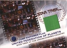 Complete Star Trek Movies KB1 United Federation of Planets Flag Prop Card #407