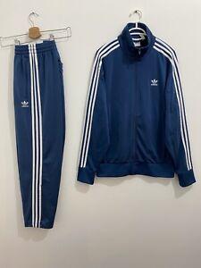 Adidas Originals ADI-Firebird Tracksuit Night Marine, Jacket Size L Pants Size M