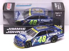 2016 JIMMIE JOHNSON #48 LOWE'S 7X CHAMPION 1/64 DIECAST FREE SHIP