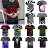 Funny Hypnosis 3D T-Shirt Men Women Colorful Print Casual Short Sleeve Tee Tops