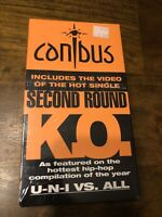 RARE Canibus K.O. McGruff This Is How We Do Hip Hop VHS Tape NEW NOS Sealed