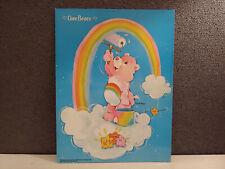 Care Bears Folder Cheer Bear 1985 Mead Vintage School Supplies