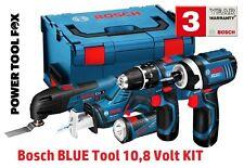 Bosch Pro 10,8V Azul Multi Tool Kit GSB GDR GOP GSA GLI 0615990GE9 3165140818650