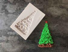 Árbol de Navidad molde de silicona fondant pastel Sugarcraft decorando Chocolate Molde