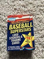 1987 Fleer Baseball Superstars Set