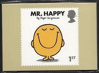 GB 2016 MR. MEN LITTLE MISS PHQ STAMP CARDS MINT