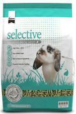 SUPREME SCIENCE SELECTIVE PREMIUM ADULT RABBIT FOOD FEED 10KG BAG PELLET NUGGET