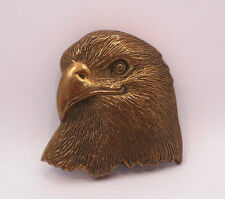 VINTAGE 1978 BARON BUCKLE BALD EAGLE  BELT BUCKLE