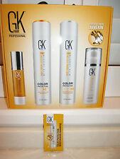 Global Keratin Kit / Set  Moisturizing Shampoo,Conditioner,Serum,Cream  GK Hair