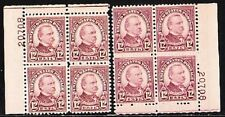 693 Grover M Og Nh Whole Sale Lot Of 2 Pbs Of 4 Cv $80