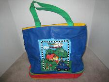 Vintage Traveling to Grandmas Overnight Bag