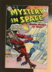 Mystery In Space 52 VG/FN 5.0 * 1 Book Lot * DC Sci-Fi 1959! Otto Binder!