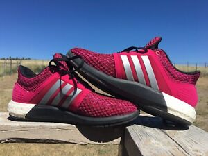 Adidas Solar Boost D68999 Magenta Pink Sneakers Running Shoes Size 8.5 Women's