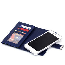Leather Removable Wallet Magnetic Flip 11 Cards Case Cover For Various Phones