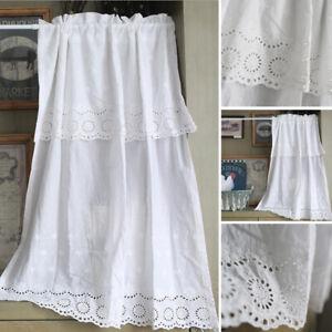 White Short Curtain Small Window Half Curtains Kitchen Cabinet Cafe Door Decor