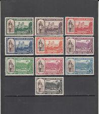 Bolivia 297-301 + C91-C95 Mint 2019 Scott Catalogue Value $6.40