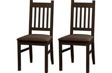 Unbranded Solid Wood Contemporary Chairs 2 Pieces
