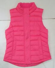 NWT CUTE GAP WOMEN Neon Pink Quilted Fall / Winter Vest #S