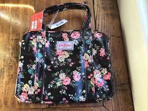 Cath Kidston Small Black Floral Bag. New With Tags