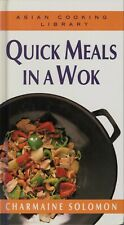 Charmaine Solomon - QUICK MEALS IN A WOK - HC - LIKE NEW CONDITION