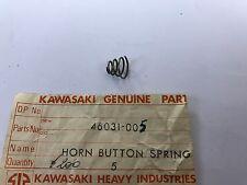 Molla pulsante clacson -  Horn Button Spring - Kawasaki NOS: 46031-005