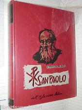 SAN PAOLO Ernesto Renan Dall Oglio 1960 Religione Biblica Biografia Storia di e