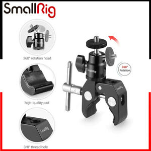 """SmallRig Super Clamp Mount with 1/4"""" Screw Ball Head Mount 1124"""