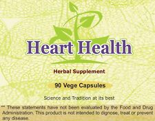 Heart Health (For Proper Function of Heart) 90 Vege Capsules, 800 mg Each