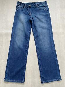 Boden blaue Denim Jeans weites Bein Gr. 12r NEU. wc137. Neu Probe