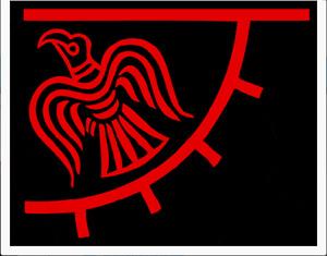 Odin's Raven Banner Viking Norse 3'x2' Flag