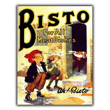 METAL SIGN WALL PLAQUE BISTO gravy Vintage Retro KITCHEN Advert Poster art print