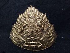 Trooper officer Czapka of the 16th The Queen's Lancers Regiment lance cap badge