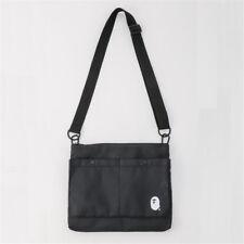 Black Japan BAPE A BATHING APE Sling Shoulder Bag Travel Crossbody Bag Bookbag