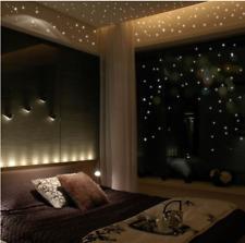 407Pcs Glow Star Dark Wall Stickers Round Moon Luminous Decor For  Kids Room