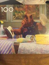 Vintage 1989 Alf Puzzle 100 Pieces Milton Bradley Used TV Show MB