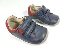 Clarks first shoes infant girls leather shoes uk 4.5 F