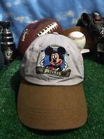 Walt Disney Mickey Mouse adjustable strapback hat cap H27