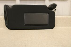 11 14 Dodge Charger SRT-8 Passenger Side Sun Visor Right RH OEM Shade Black